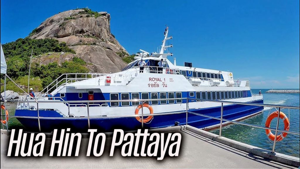 Pattaya Hua Hin Ferry Tickets